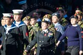Remembrance Sunday Cenotaph March Past 2013: M45 - Sea Cadet Corps.. Press stand opposite the Foreign Office building, Whitehall, London SW1, London, Greater London, United Kingdom, on 10 November 2013 at 12:14, image #2220