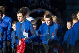 Remembrance Sunday Cenotaph March Past 2013: M51 - Boys Brigade.. Press stand opposite the Foreign Office building, Whitehall, London SW1, London, Greater London, United Kingdom, on 10 November 2013 at 12:15, image #2279