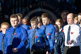Remembrance Sunday Cenotaph March Past 2013: M51 - Boys Brigade.. Press stand opposite the Foreign Office building, Whitehall, London SW1, London, Greater London, United Kingdom, on 10 November 2013 at 12:15, image #2283