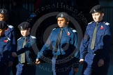 Remembrance Sunday Cenotaph March Past 2013: M54 - Metropolitan Police Volunteer Police Cadets.. Press stand opposite the Foreign Office building, Whitehall, London SW1, London, Greater London, United Kingdom, on 10 November 2013 at 12:16, image #2311