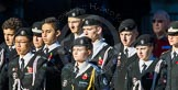 Remembrance Sunday Cenotaph March Past 2013: M55 - St John Ambulance Cadets.. Press stand opposite the Foreign Office building, Whitehall, London SW1, London, Greater London, United Kingdom, on 10 November 2013 at 12:16, image #2318