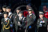 Remembrance Sunday Cenotaph March Past 2013: M55 - St John Ambulance Cadets.. Press stand opposite the Foreign Office building, Whitehall, London SW1, London, Greater London, United Kingdom, on 10 November 2013 at 12:16, image #2320