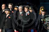 Remembrance Sunday Cenotaph March Past 2013. Press stand opposite the Foreign Office building, Whitehall, London SW1, London, Greater London, United Kingdom, on 10 November 2013 at 12:16, image #2335