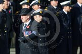 Remembrance Sunday at the Cenotaph in London 2014: Group C1 - Royal Air Forces Association. Press stand opposite the Foreign Office building, Whitehall, London SW1, London, Greater London, United Kingdom, on 09 November 2014 at 11:37, image #23