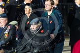 Remembrance Sunday at the Cenotaph in London 2014: Group C1 - Royal Air Forces Association. Press stand opposite the Foreign Office building, Whitehall, London SW1, London, Greater London, United Kingdom, on 09 November 2014 at 11:37, image #26