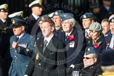 Remembrance Sunday at the Cenotaph in London 2014: Group C2 - Royal Air Force Regiment Association. Press stand opposite the Foreign Office building, Whitehall, London SW1, London, Greater London, United Kingdom, on 09 November 2014 at 11:37, image #29