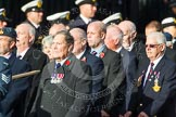 Remembrance Sunday at the Cenotaph in London 2014: Group C2 - Royal Air Force Regiment Association. Press stand opposite the Foreign Office building, Whitehall, London SW1, London, Greater London, United Kingdom, on 09 November 2014 at 11:37, image #41