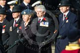 Remembrance Sunday at the Cenotaph in London 2014: Group C2 - Royal Air Force Regiment Association. Press stand opposite the Foreign Office building, Whitehall, London SW1, London, Greater London, United Kingdom, on 09 November 2014 at 11:38, image #54