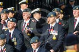 Remembrance Sunday at the Cenotaph in London 2014: Group C2 - Royal Air Force Regiment Association. Press stand opposite the Foreign Office building, Whitehall, London SW1, London, Greater London, United Kingdom, on 09 November 2014 at 11:38, image #58