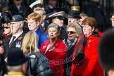 Remembrance Sunday at the Cenotaph in London 2014: Group C2 - Royal Air Force Regiment Association. Press stand opposite the Foreign Office building, Whitehall, London SW1, London, Greater London, United Kingdom, on 09 November 2014 at 11:38, image #79