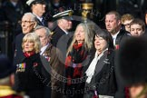 Remembrance Sunday at the Cenotaph in London 2014: Group C3 - Bomber Command Association. Press stand opposite the Foreign Office building, Whitehall, London SW1, London, Greater London, United Kingdom, on 09 November 2014 at 11:38, image #84