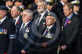 Remembrance Sunday at the Cenotaph in London 2014: Group C6 - RAFLING Association. Press stand opposite the Foreign Office building, Whitehall, London SW1, London, Greater London, United Kingdom, on 09 November 2014 at 11:39, image #112