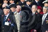 Remembrance Sunday at the Cenotaph in London 2014: Group C7 - 6 Squadron (Royal Air Force) Association. Press stand opposite the Foreign Office building, Whitehall, London SW1, London, Greater London, United Kingdom, on 09 November 2014 at 11:39, image #117