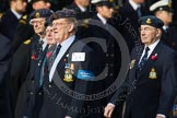 Remembrance Sunday at the Cenotaph in London 2014: Group C9 - RAF Habbaniya Association. Press stand opposite the Foreign Office building, Whitehall, London SW1, London, Greater London, United Kingdom, on 09 November 2014 at 11:39, image #122