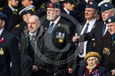 Remembrance Sunday at the Cenotaph in London 2014: Group C9 - RAF Habbaniya Association. Press stand opposite the Foreign Office building, Whitehall, London SW1, London, Greater London, United Kingdom, on 09 November 2014 at 11:39, image #124