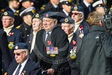 Remembrance Sunday at the Cenotaph in London 2014: Group C10 - Royal Air Force & Defence Fire Services Association. Press stand opposite the Foreign Office building, Whitehall, London SW1, London, Greater London, United Kingdom, on 09 November 2014 at 11:39, image #133