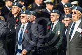 Remembrance Sunday at the Cenotaph in London 2014: Group C11 - Air Sea Rescue & Marine Craft Sections Club. Press stand opposite the Foreign Office building, Whitehall, London SW1, London, Greater London, United Kingdom, on 09 November 2014 at 11:39, image #138