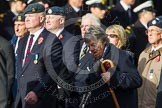 Remembrance Sunday at the Cenotaph in London 2014: Group C12 - Royal Air Force Mountain Rescue Association. Press stand opposite the Foreign Office building, Whitehall, London SW1, London, Greater London, United Kingdom, on 09 November 2014 at 11:39, image #140