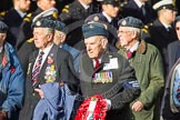 Remembrance Sunday at the Cenotaph in London 2014: Group C14 - Royal Air Force Yatesbury Association. Press stand opposite the Foreign Office building, Whitehall, London SW1, London, Greater London, United Kingdom, on 09 November 2014 at 11:40, image #144