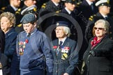Remembrance Sunday at the Cenotaph in London 2014: Group C16 - Women's Auxiliary Air Force. Press stand opposite the Foreign Office building, Whitehall, London SW1, London, Greater London, United Kingdom, on 09 November 2014 at 11:40, image #150