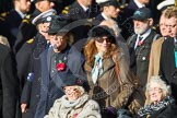 Remembrance Sunday at the Cenotaph in London 2014: Group C16 - Women's Auxiliary Air Force. Press stand opposite the Foreign Office building, Whitehall, London SW1, London, Greater London, United Kingdom, on 09 November 2014 at 11:40, image #152