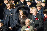 Remembrance Sunday at the Cenotaph in London 2014: Group C17 - Blenheim Society. Press stand opposite the Foreign Office building, Whitehall, London SW1, London, Greater London, United Kingdom, on 09 November 2014 at 11:40, image #153
