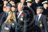 Remembrance Sunday at the Cenotaph in London 2014: Group C18 - Coastal Command & Maritime Air Association. Press stand opposite the Foreign Office building, Whitehall, London SW1, London, Greater London, United Kingdom, on 09 November 2014 at 11:40, image #159