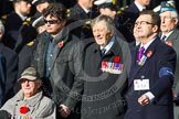Remembrance Sunday at the Cenotaph in London 2014: Group C19 - Royal Air Forces Ex-Prisoner's of War Association. Press stand opposite the Foreign Office building, Whitehall, London SW1, London, Greater London, United Kingdom, on 09 November 2014 at 11:40, image #163