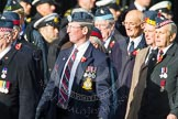 Remembrance Sunday at the Cenotaph in London 2014: Group C20 - Federation of Royal Air Force Apprentice & Boy Entrant Associations. Press stand opposite the Foreign Office building, Whitehall, London SW1, London, Greater London, United Kingdom, on 09 November 2014 at 11:40, image #172