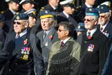 Remembrance Sunday at the Cenotaph in London 2014: Group C20 - Federation of Royal Air Force Apprentice & Boy Entrant Associations. Press stand opposite the Foreign Office building, Whitehall, London SW1, London, Greater London, United Kingdom, on 09 November 2014 at 11:40, image #176