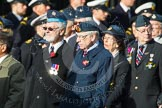 Remembrance Sunday at the Cenotaph in London 2014: Group C20 - Federation of Royal Air Force Apprentice & Boy Entrant Associations. Press stand opposite the Foreign Office building, Whitehall, London SW1, London, Greater London, United Kingdom, on 09 November 2014 at 11:40, image #177