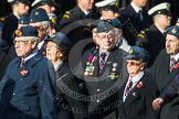 Remembrance Sunday at the Cenotaph in London 2014: Group C21 - Royal Air Force Air Loadmasters Association. Press stand opposite the Foreign Office building, Whitehall, London SW1, London, Greater London, United Kingdom, on 09 November 2014 at 11:40, image #178
