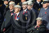 Remembrance Sunday at the Cenotaph in London 2014: Group C22 - Royal Air Force Police Association. Press stand opposite the Foreign Office building, Whitehall, London SW1, London, Greater London, United Kingdom, on 09 November 2014 at 11:40, image #183