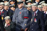 Remembrance Sunday at the Cenotaph in London 2014: Group C22 - Royal Air Force Police Association. Press stand opposite the Foreign Office building, Whitehall, London SW1, London, Greater London, United Kingdom, on 09 November 2014 at 11:40, image #184