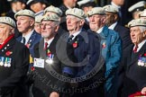 Remembrance Sunday at the Cenotaph in London 2014: Group C22 - Royal Air Force Police Association. Press stand opposite the Foreign Office building, Whitehall, London SW1, London, Greater London, United Kingdom, on 09 November 2014 at 11:41, image #187