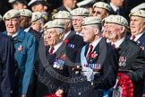 Remembrance Sunday at the Cenotaph in London 2014: Group C22 - Royal Air Force Police Association. Press stand opposite the Foreign Office building, Whitehall, London SW1, London, Greater London, United Kingdom, on 09 November 2014 at 11:41, image #188