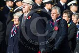 Remembrance Sunday at the Cenotaph in London 2014: Group C22 - Royal Air Force Police Association. Press stand opposite the Foreign Office building, Whitehall, London SW1, London, Greater London, United Kingdom, on 09 November 2014 at 11:41, image #190