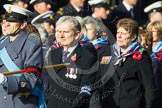 Remembrance Sunday at the Cenotaph in London 2014: Group C23 - Princess Mary's Royal Air Force Nursing Service Association. Press stand opposite the Foreign Office building, Whitehall, London SW1, London, Greater London, United Kingdom, on 09 November 2014 at 11:41, image #194