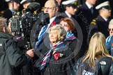Remembrance Sunday at the Cenotaph in London 2014: Group C23 - Princess Mary's Royal Air Force Nursing Service Association. Press stand opposite the Foreign Office building, Whitehall, London SW1, London, Greater London, United Kingdom, on 09 November 2014 at 11:41, image #198