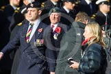 Remembrance Sunday at the Cenotaph in London 2014: Group C24 - British Limbless Ex-Service Men's Association. Press stand opposite the Foreign Office building, Whitehall, London SW1, London, Greater London, United Kingdom, on 09 November 2014 at 11:41, image #201