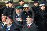 Remembrance Sunday at the Cenotaph in London 2014: Group C24 - British Limbless Ex-Service Men's Association. Press stand opposite the Foreign Office building, Whitehall, London SW1, London, Greater London, United Kingdom, on 09 November 2014 at 11:41, image #205
