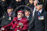 Remembrance Sunday at the Cenotaph in London 2014: Group C24 - British Limbless Ex-Service Men's Association. Press stand opposite the Foreign Office building, Whitehall, London SW1, London, Greater London, United Kingdom, on 09 November 2014 at 11:41, image #206