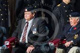 Remembrance Sunday at the Cenotaph in London 2014: Group C24 - British Limbless Ex-Service Men's Association. Press stand opposite the Foreign Office building, Whitehall, London SW1, London, Greater London, United Kingdom, on 09 November 2014 at 11:41, image #207