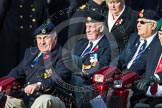 Remembrance Sunday at the Cenotaph in London 2014: Group C24 - British Limbless Ex-Service Men's Association. Press stand opposite the Foreign Office building, Whitehall, London SW1, London, Greater London, United Kingdom, on 09 November 2014 at 11:41, image #208