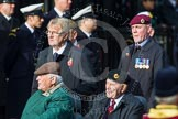 Remembrance Sunday at the Cenotaph in London 2014: Group C24 - British Limbless Ex-Service Men's Association. Press stand opposite the Foreign Office building, Whitehall, London SW1, London, Greater London, United Kingdom, on 09 November 2014 at 11:41, image #210