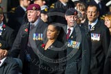 Remembrance Sunday at the Cenotaph in London 2014: Group C24 - British Limbless Ex-Service Men's Association. Press stand opposite the Foreign Office building, Whitehall, London SW1, London, Greater London, United Kingdom, on 09 November 2014 at 11:41, image #213