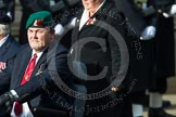 Remembrance Sunday at the Cenotaph in London 2014: Group C24 - British Limbless Ex-Service Men's Association. Press stand opposite the Foreign Office building, Whitehall, London SW1, London, Greater London, United Kingdom, on 09 November 2014 at 11:41, image #214