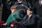 Remembrance Sunday at the Cenotaph in London 2014: Group C24 - British Limbless Ex-Service Men's Association. Press stand opposite the Foreign Office building, Whitehall, London SW1, London, Greater London, United Kingdom, on 09 November 2014 at 11:41, image #215