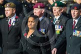Remembrance Sunday at the Cenotaph in London 2014: Group C24 - British Limbless Ex-Service Men's Association. Press stand opposite the Foreign Office building, Whitehall, London SW1, London, Greater London, United Kingdom, on 09 November 2014 at 11:41, image #216