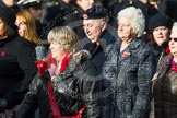 Remembrance Sunday at the Cenotaph in London 2014: Group C24 - British Limbless Ex-Service Men's Association. Press stand opposite the Foreign Office building, Whitehall, London SW1, London, Greater London, United Kingdom, on 09 November 2014 at 11:41, image #218